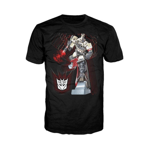 Transformers Megatron Cutaway Official Men's T-shirt (Black) - Urban Species Mens Short Sleeved T-Shirt