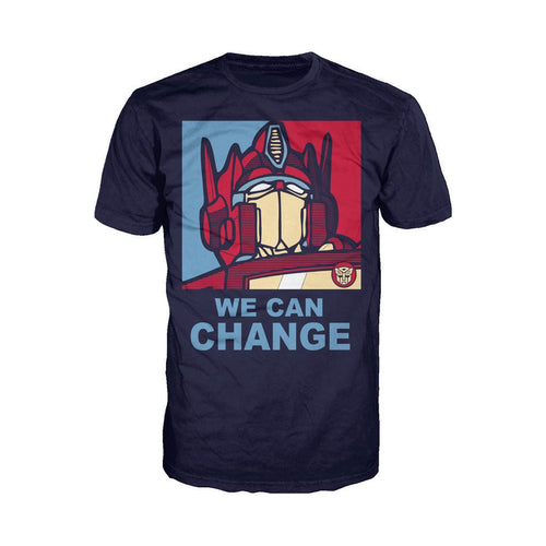 Transformers Obama Prime Official Men's T-shirt (Navy)