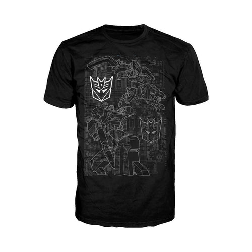 Transformers Soundwave Circuit Board Official Men's T-shirt (Black)