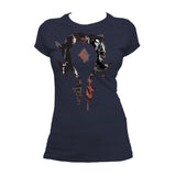 Warcraft Horde Logo Compilation Official Women's T-shirt (Navy)