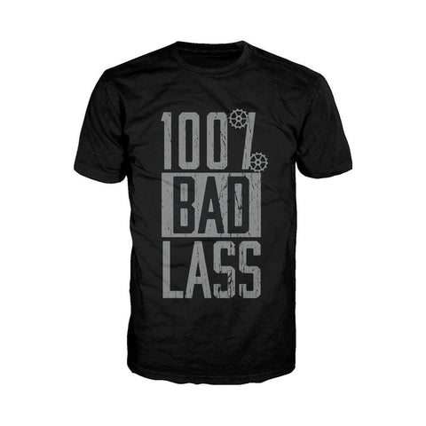 WWE Becky Lynch 100% Bad Lass Official Men's T-shirt (Black) - Urban Species Mens Short Sleeved T-Shirt