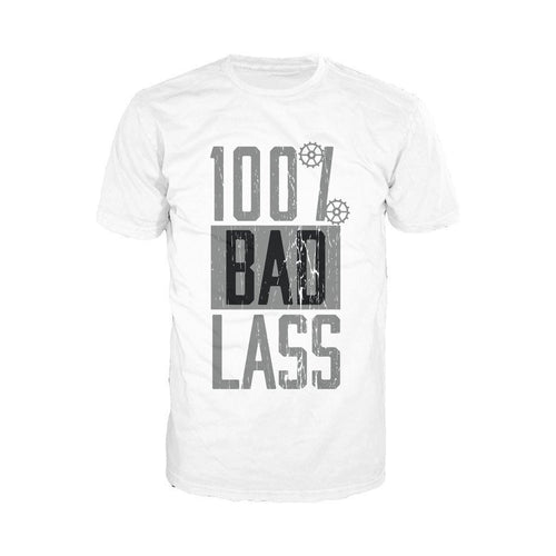 WWE Becky Lynch 100% Bad Lass Official Men's T-shirt (White)
