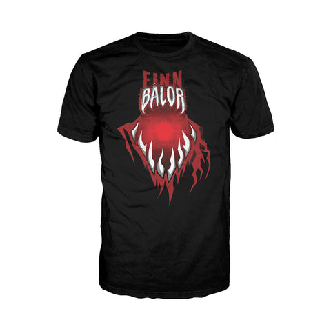 WWE Finn Balor Mouth Official Men's T-shirt (Black) - Urban Species Mens Short Sleeved T-Shirt