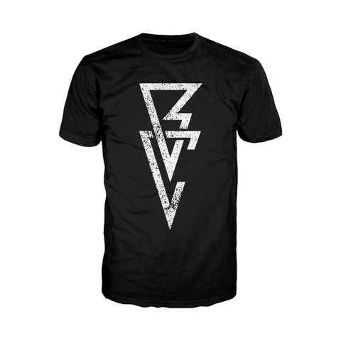WWE Finn Balor Logo Triangle Official Men's T-shirt (Black) - Urban Species Mens Short Sleeved T-Shirt