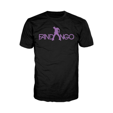 WWE Fandango Logo Purple Official Men's T-shirt (Black) - Urban Species Mens Short Sleeved T-Shirt