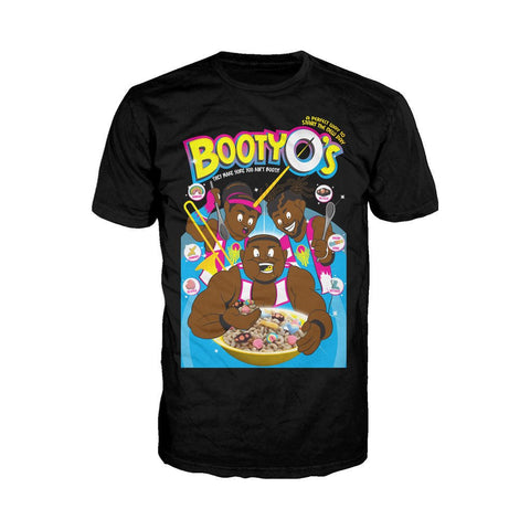 WWE The New Day BootyO`s Official Men's T-shirt (Black) - Urban Species Mens Short Sleeved T-Shirt