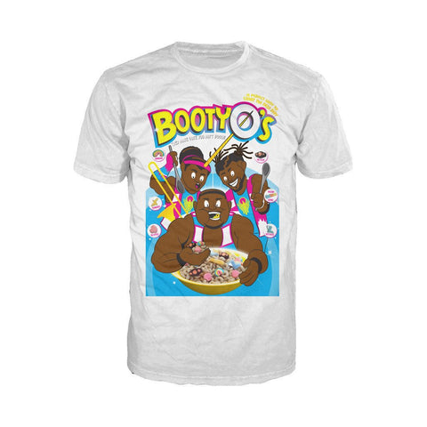 WWE The New Day BootyO`s Official Men's T-shirt (White) - Urban Species Mens Short Sleeved T-Shirt
