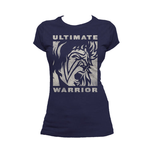 WWE Ultimate Warrior Face Distressed