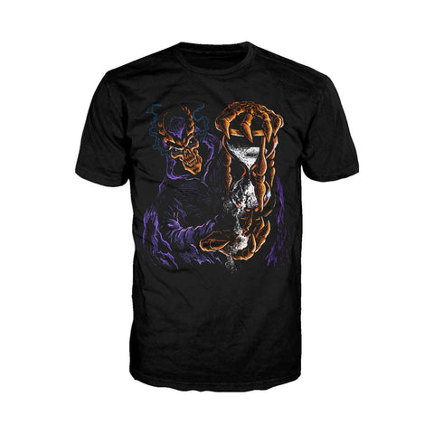 WWE Undertaker Hour Glass Official Men's T-shirt (Black)