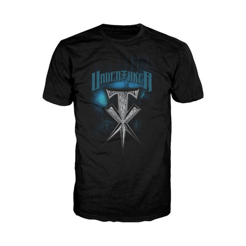 WWE Undertaker Spike Official Men's T-shirt (Black) - Urban Species Mens Short Sleeved T-Shirt