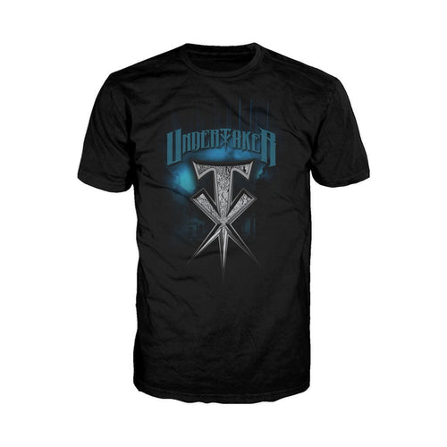 WWE Undertaker Spike Official Men's T-shirt (Black)