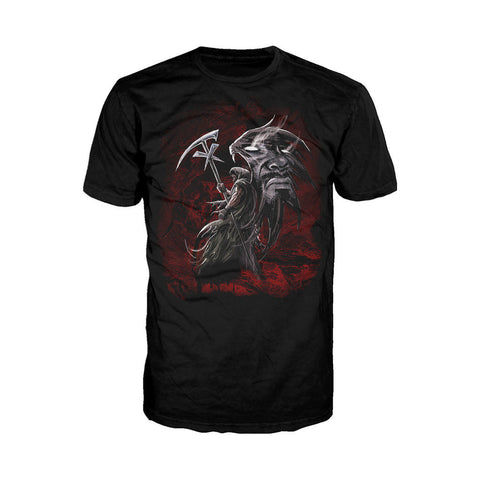 WWE Undertaker Wing Reaper Official Men's T-shirt (Black) - Urban Species Mens Short Sleeved T-Shirt