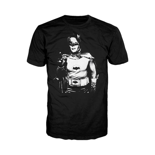 DC Comics Batman 66 The Legend Official Men's T-shirt (Black)  - Urban Species Mens Short Sleeved T-Shirt