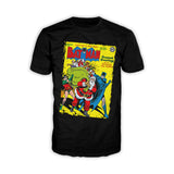 US DC Batman Cover 27 Xmas Men's T-shirt (Black)