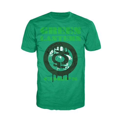 DC Comics Green Lantern Corps Graff Official Men's T-shirt (Green) - Urban Species Mens Short Sleeved T-Shirt