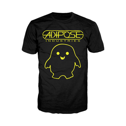 Doctor Who Spacetime Tour Adipose Official Men's T-shirt (Black) - Urban Species Mens Short Sleeved T-Shirt