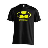 Buttman - Adult Joke T-shirt (Black)