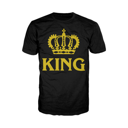 King - Adult Joke T-shirt (Black) - Urban Species