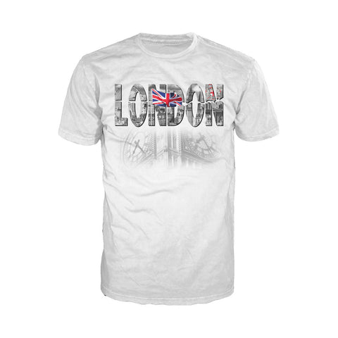 London Faded Men's T-shirt (White) - Urban Species