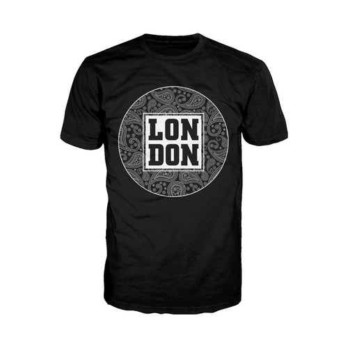 London Floral Men's T-shirt (Black) - Urban Species