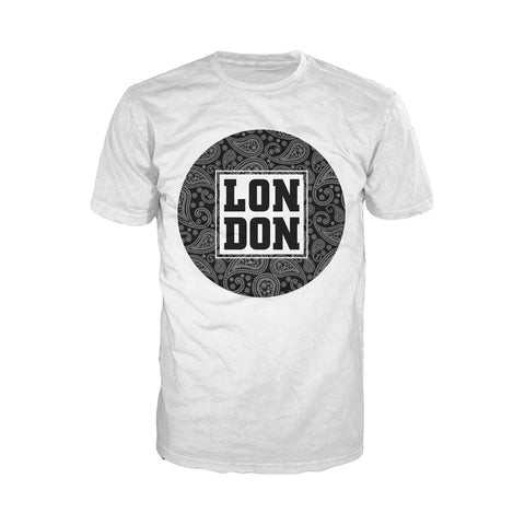 London Floral Men's T-shirt (White) - Urban Species