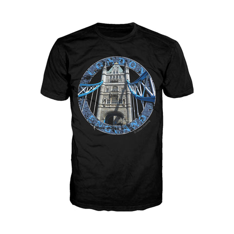 Cool New London Original Men's T-Shirt (Black) - Urban Species Mens Short Sleeved T-Shirt