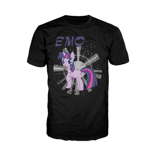 My Little Pony Emo Official Men's T-shirt (Black) - Urban Species Mens Short Sleeved T-Shirt