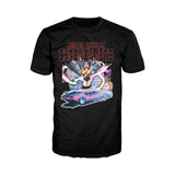 Chrononauts Poster Corbin Quinn Official Men's T-Shirt (Black)