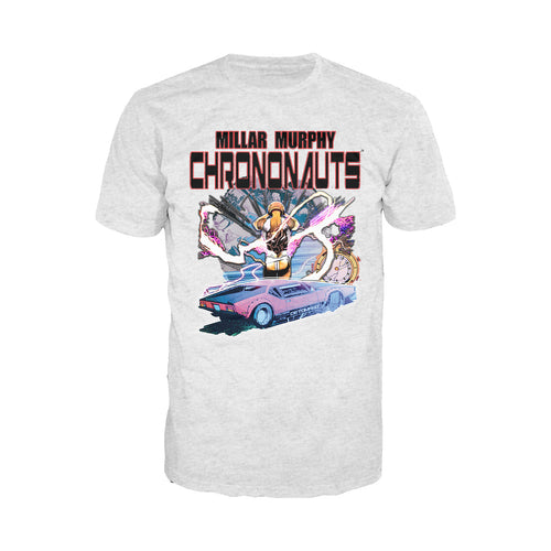 Chrononauts Poster Corbin Quinn Official Men's T-Shirt (Heather Grey) - Urban Species Mens Short Sleeved T-Shirt