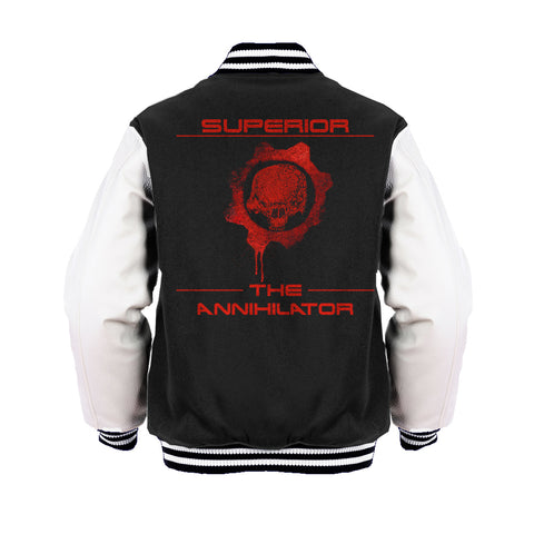 Superior Remix The Annihilator Official Varsity Jacket (Black) - Urban Species Varsity Jacket