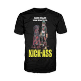 Cool New Kick Ass Poster Hit Girl Bloody Official Men's T-Shirt (Black) - Urban Species Mens Short Sleeved T-Shirt