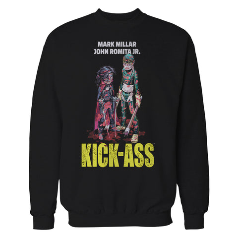 Cool New Kick Ass Poster Hit Girl Bloody Official Sweatshirt (Black) - Urban Species Mens Sweatshirt