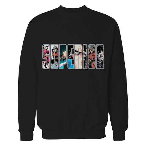 Superior Logo Collage Official Sweatshirt (Black)