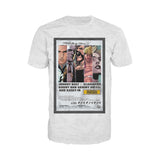 Supercrooks 60s Ocean Poster Official Men's T-Shirt (Heather Grey)
