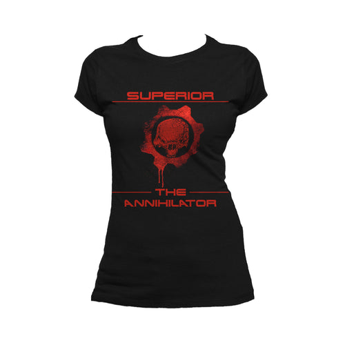 Superior Remix The Annihilator Official Women's T-Shirt (Black)