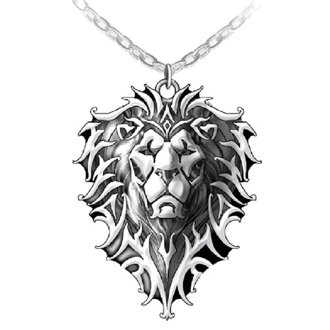 Warcraft Official Jewellery Lion Motif Pendant (Stainless Steel)