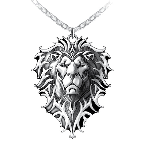 Warcraft Official Jewellery Lion Motif Pendant (Stainless Steel) - Urban Species