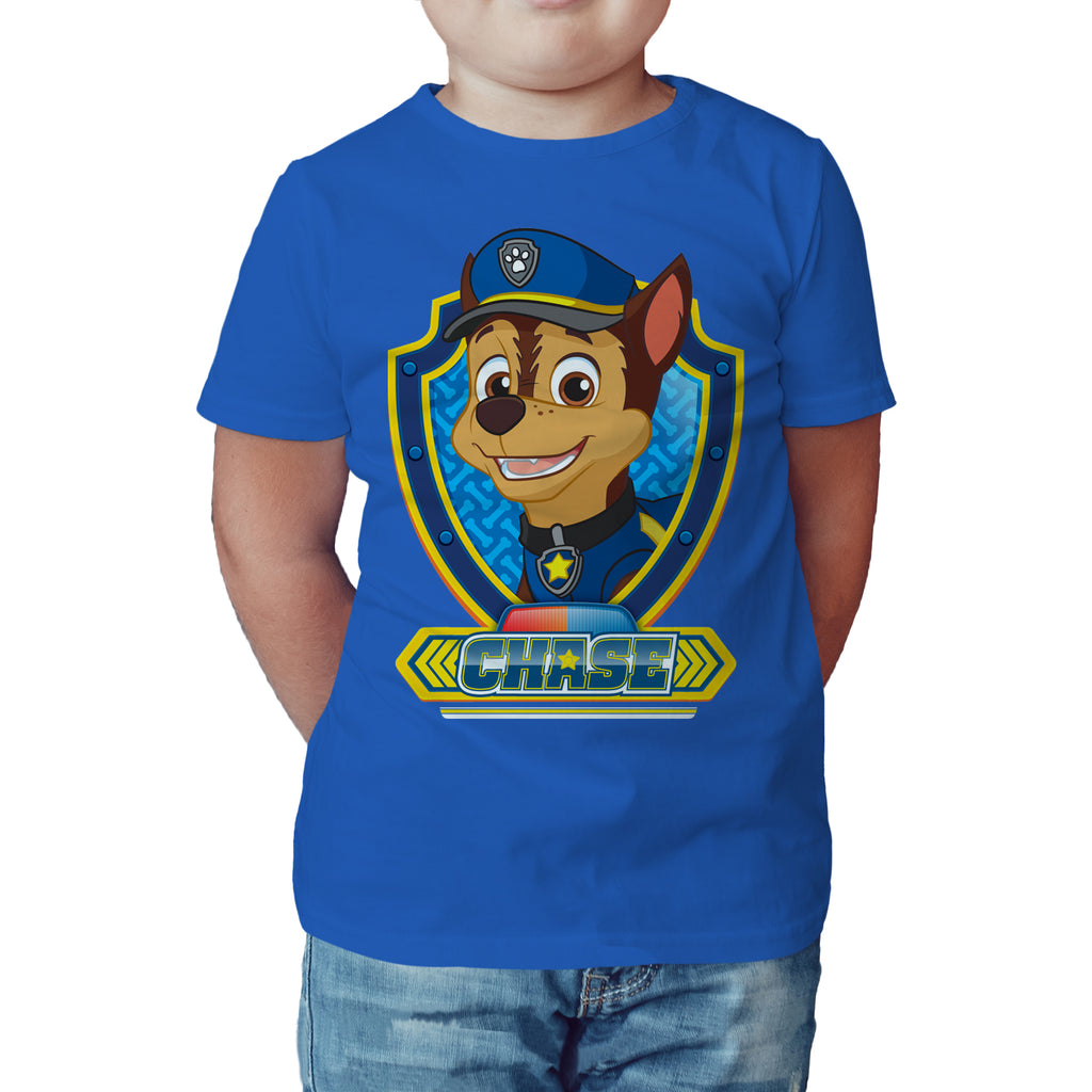 3c7242e4 Paw Patrol Chase Official Kid's T-Shirt (Royal Blue) - Urban Species Kids