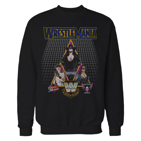 WWE Wrestlemania Legends 2018 Official Sweatshirt (Black) - Urban Species Sweatshirt
