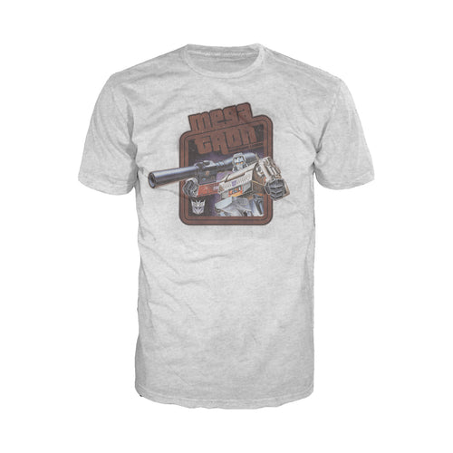 Cool New Transformers Megatron Leader Official Men's T-shirt (Heather Grey) - Urban Species