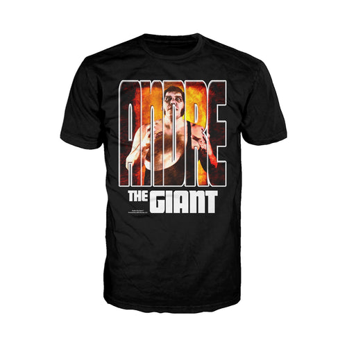 WWE Andre The Giant Splash GIANT Official Men's T-shirt (Black)
