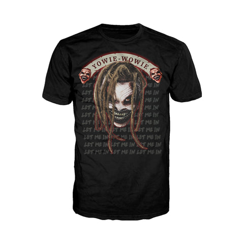 US WWE Bray Wyatt Fiend Yowie Wowie Official Men's T-Shirt (Black) - Urban Species Mens Short Sleeved T-Shirt