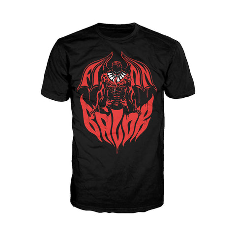 WWE Finn Balor Bat Out Of Hell Official Men's T-shirt (Black) - Urban Species Mens Short Sleeved T-Shirt