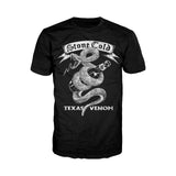 WWE Stone Cold Steve Austin Comic Texas Venom Official Men's T-shirt (Black) - Urban Species Mens Short Sleeved T-Shirt