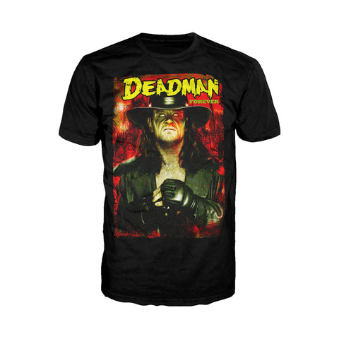 WWE Undertaker Deadman Forever Official Men's T-Shirt (Black) - Urban Species Men's T-shirt