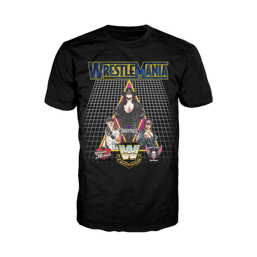 WWE WrestleMania Legends 2018 Official Men's T-shirt (Black) - Urban Species Mens Short Sleeved T-Shirt