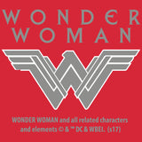 DC Wonder Woman Circle Victory Official Men's T-shirt (Red) - Urban Species Mens Short Sleeved T-Shirt