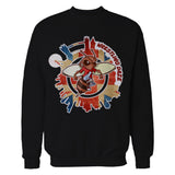 Wrestling Daze Splash London Sweatshirt (Black)