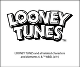 Looney Tunes All Stars That's All Folks Official Men's T-Shirt (Heather Grey)