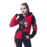 DC Comics Harley Quinn Blackhood Geek Women's Hood